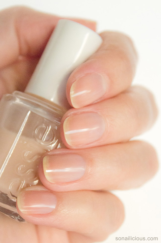 Essie Ridge Filling Base Coat review