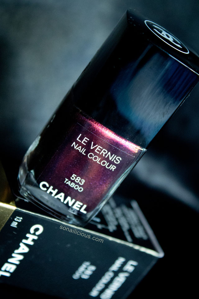 chanel taboo nail polish