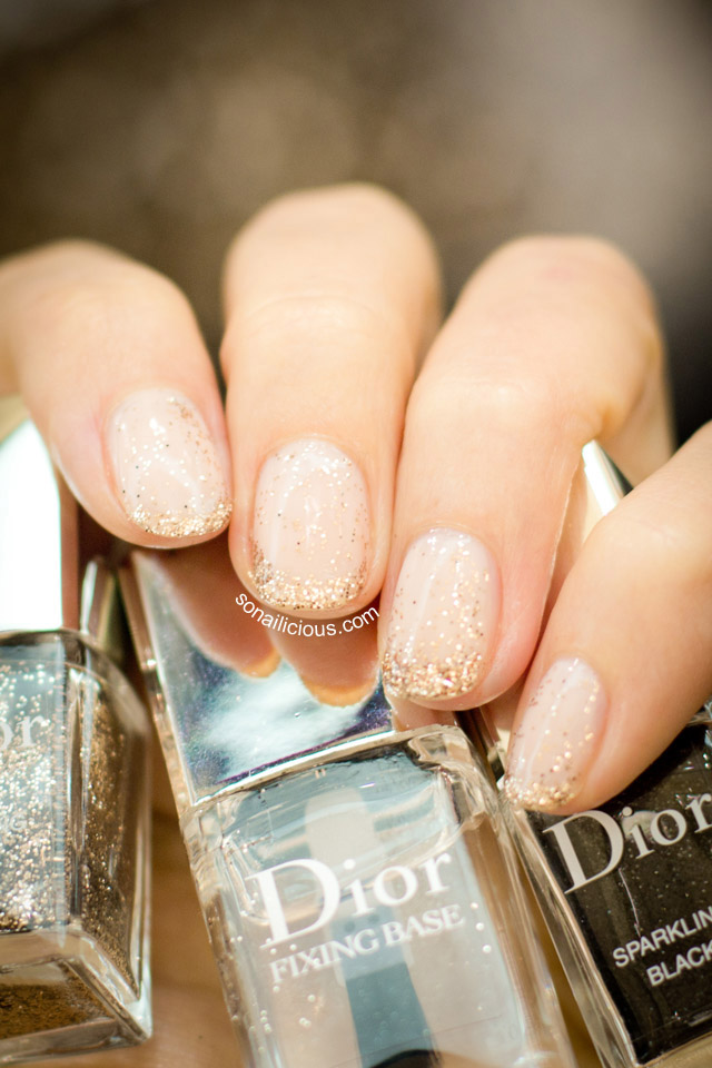 Christian Dior Sparkling Nail Powders - Review