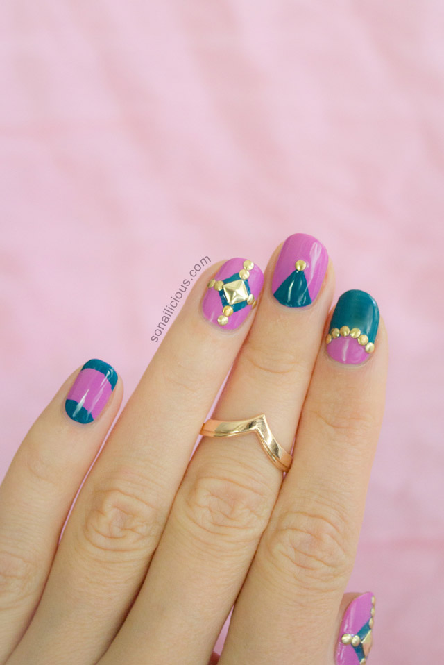 orly surreal collection nail design