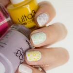 Ulta3 The Big Book of Nails Review & Pastel Polka Dot Nail Art