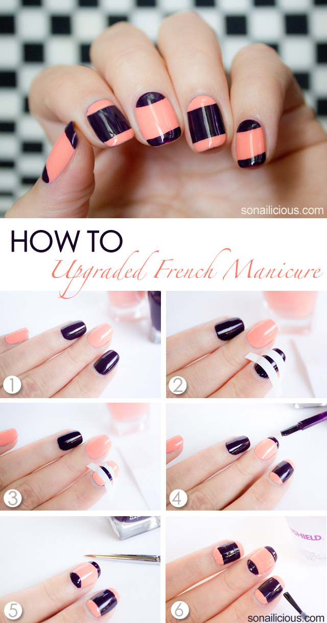 french manicure tutorial