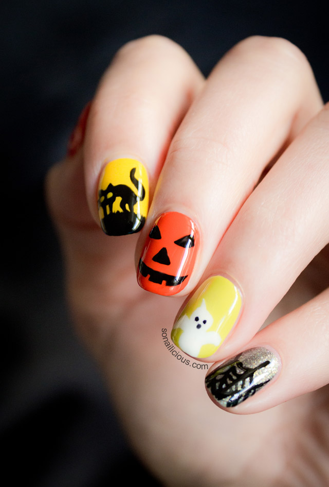 Nails Halloween images