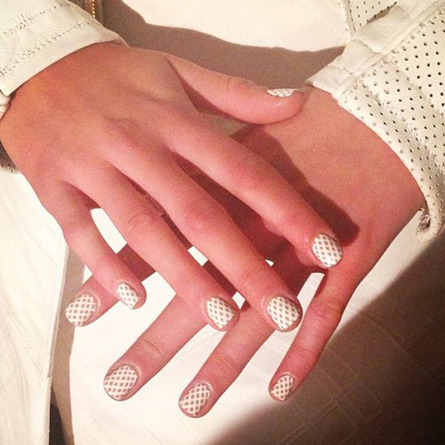 Spring nail designs ss2014 london fashion week nail designs spring 2014 teatum jones prinsesfo Choice Image