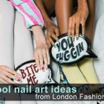 15 Stunning Nail Designs from Spring 2014 London Fashion Week