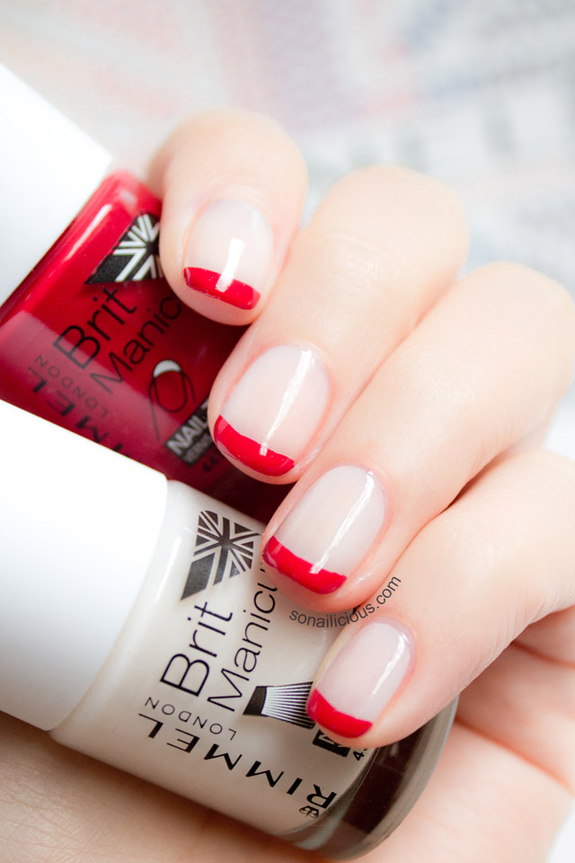 Rimmel Brit manicure nail polish review
