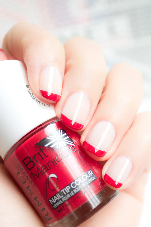 Rimmel right royal red nail polish