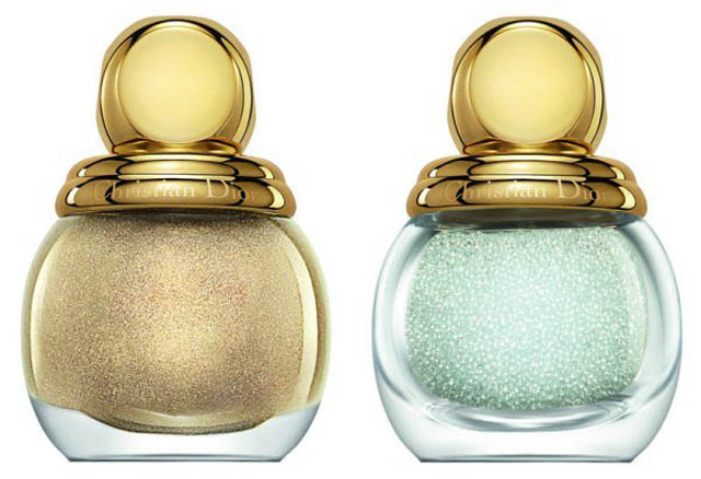 dior golden winter 2013 holiday nail polish