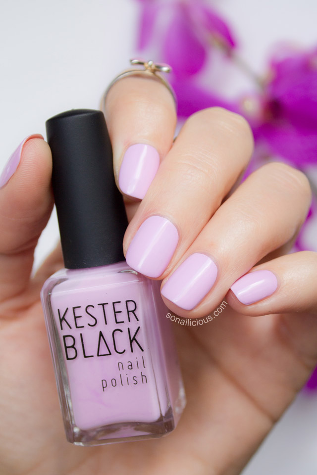 kester black fairy floss nail polish