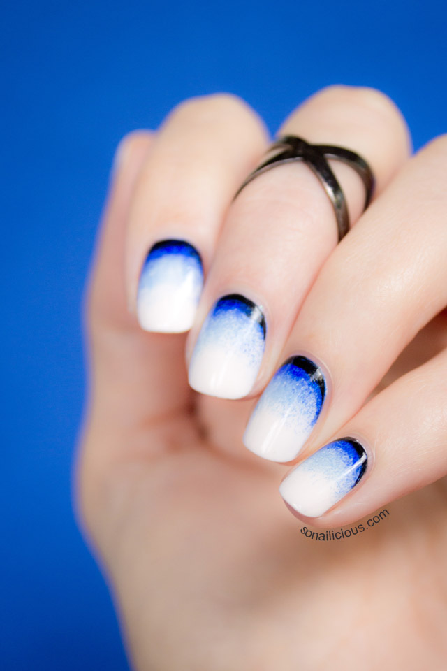 Ombre Nail Trend: Stormy Beach Nail Art: Inspired By Cairns