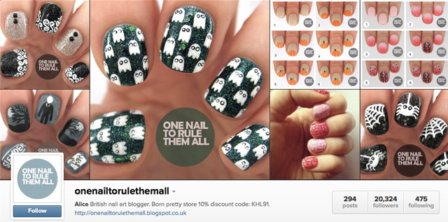 one nail to rule them all nails instagram