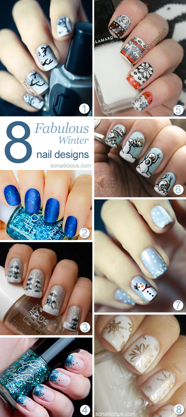 8 best winter nail designs