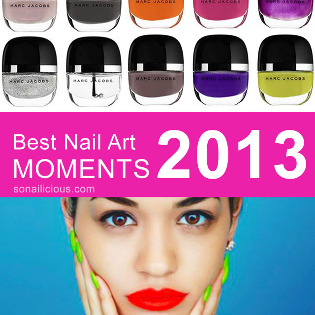 best nail art moments 2013