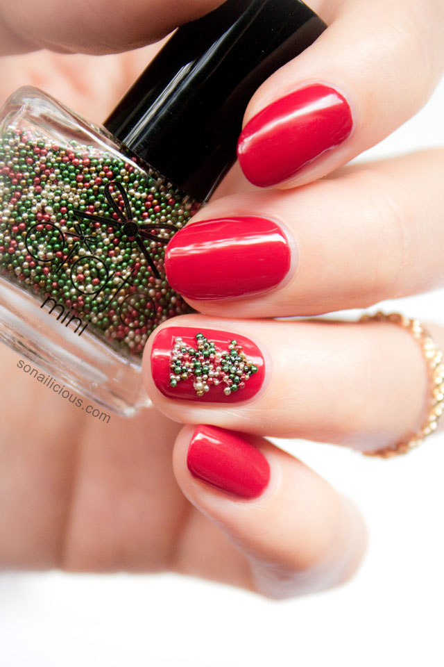 ciate christmas tree nails