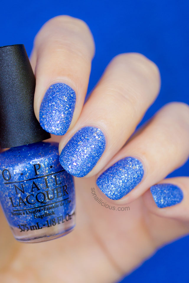 opi mariah carey kiss me at midnight swatch