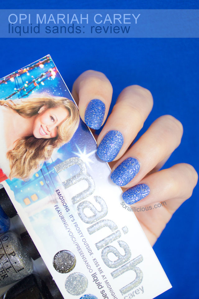 opi mariah carey liquid sand mini set copy