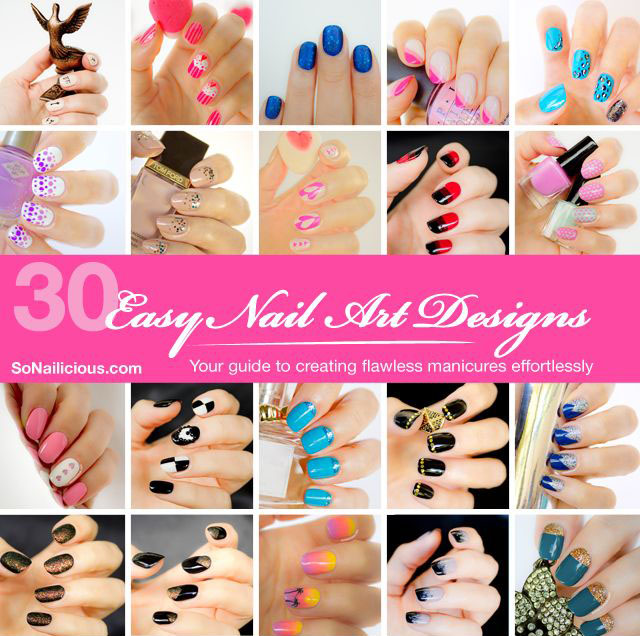 Nail art book by SoNailicious