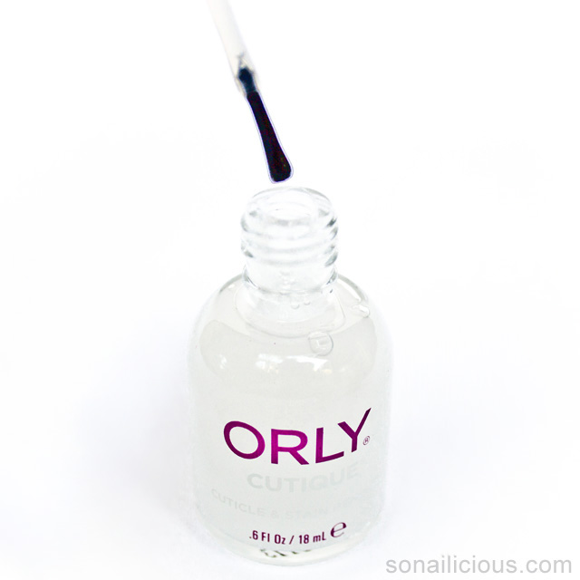 ORLY CUTIQUE cuticle remover reviews 1