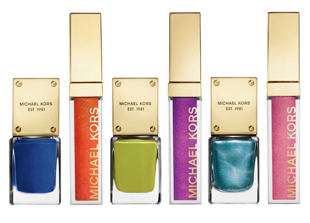 michael kors spring 214 beauty sets