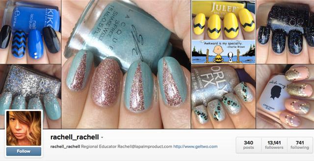 rachell rachell nail art instagram