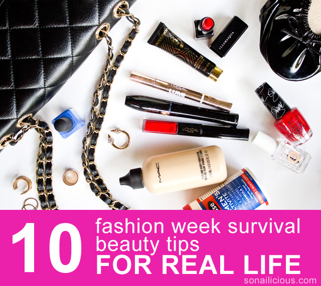10 best beauty tips fashion week 1