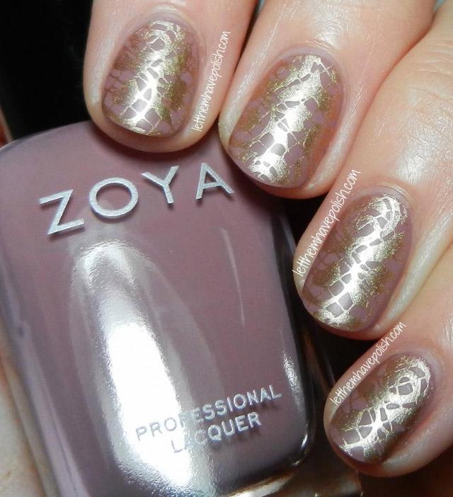 Zoya Brigitte Stamped