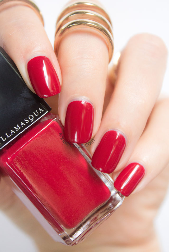 The Raddest Red Illamasqua Throb