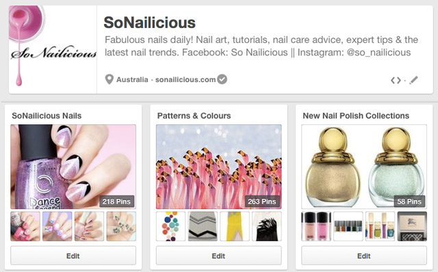 sonailicious australian nail blog pinterest