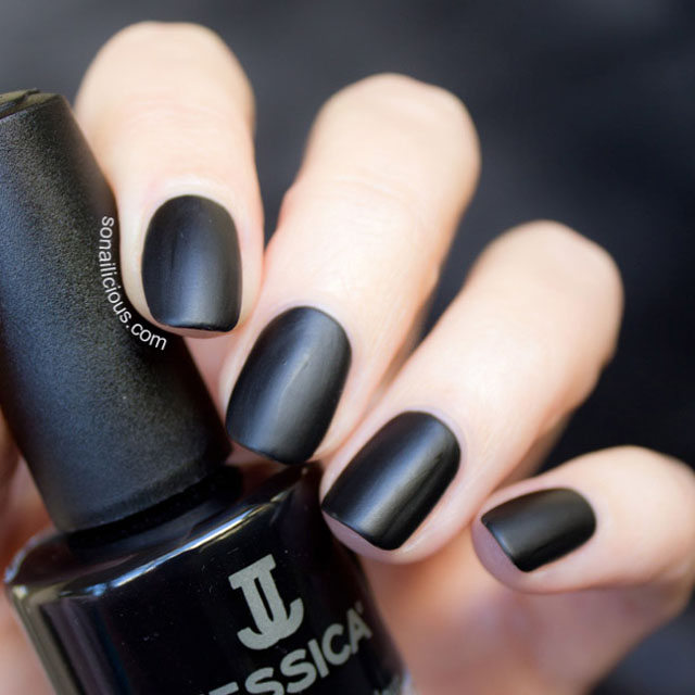 black nails power mystery or vulnerability