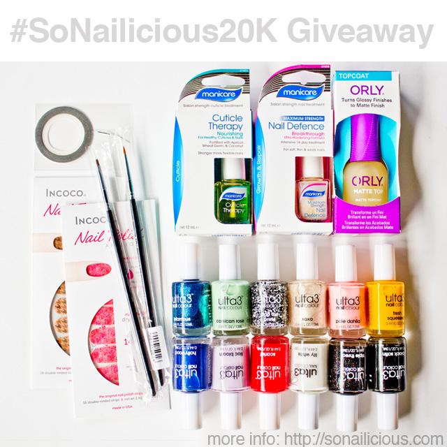 FB sonailicious20k giveaway