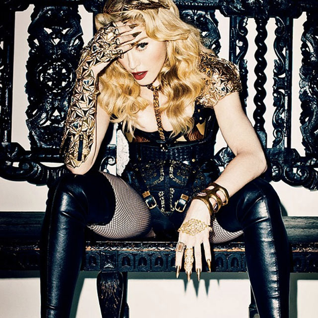 Madonna. Nails by @Naominailsnyc