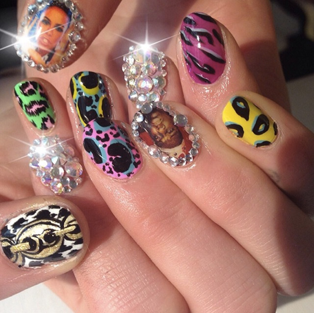 Nail pimping by @Sophynails