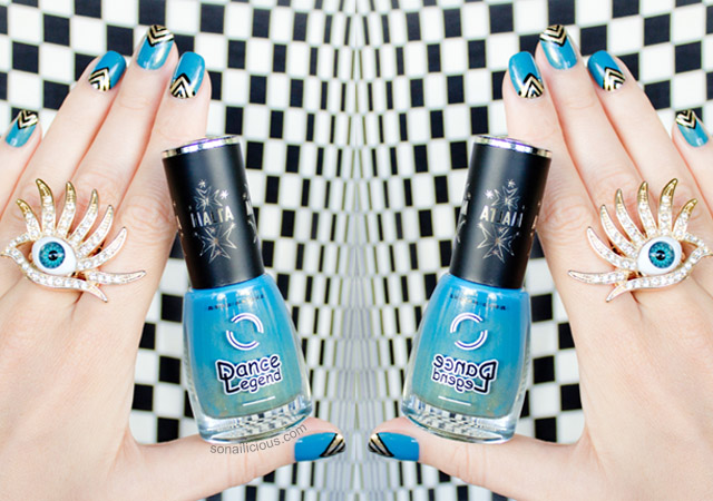 dance legend malta 89 review, teal nail polish