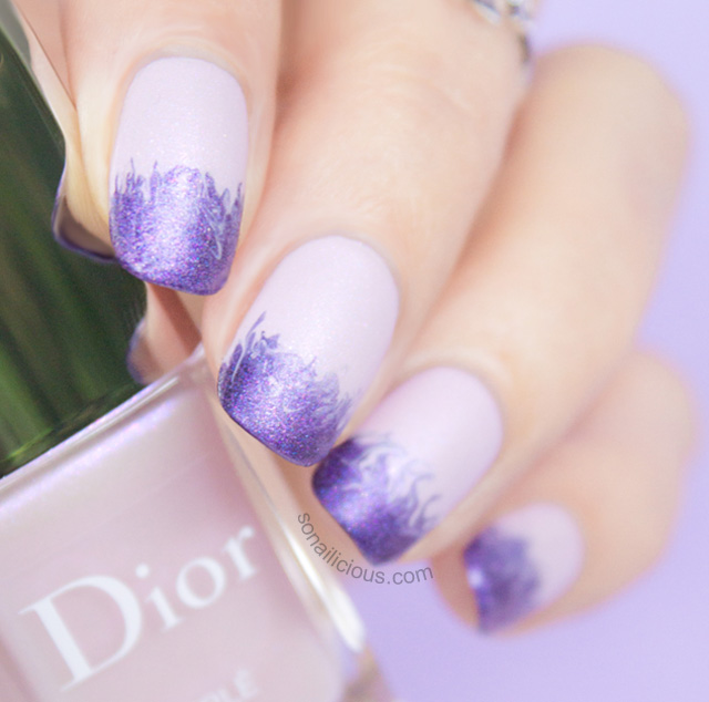 Dior Perle Trianon Review Amp Cloudy Ombre Nails