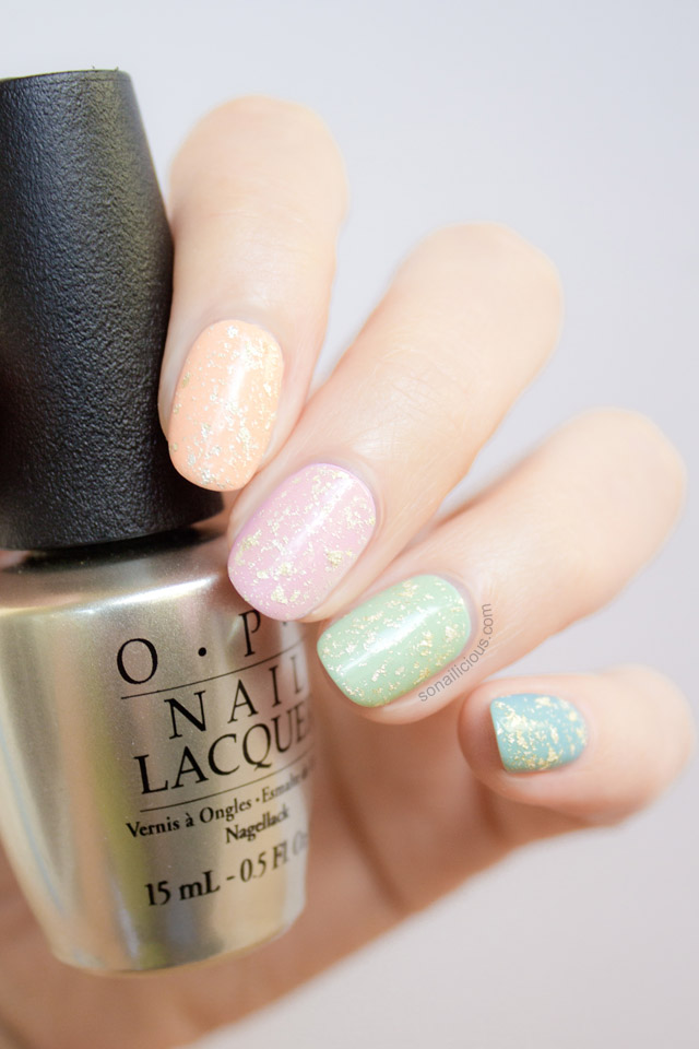 easy easter egg nails, easter nails tutorial