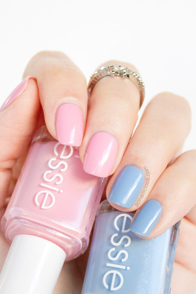 essie rock the boat, essie pink about it