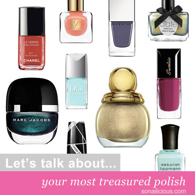 most treasured nail polish