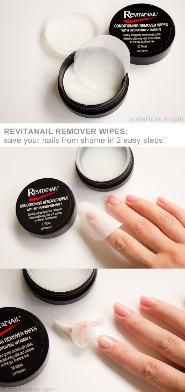 revitanail best nail polish remover wipes review