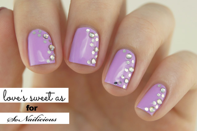 - The Sideways French Spring Nail Art Tutorial
