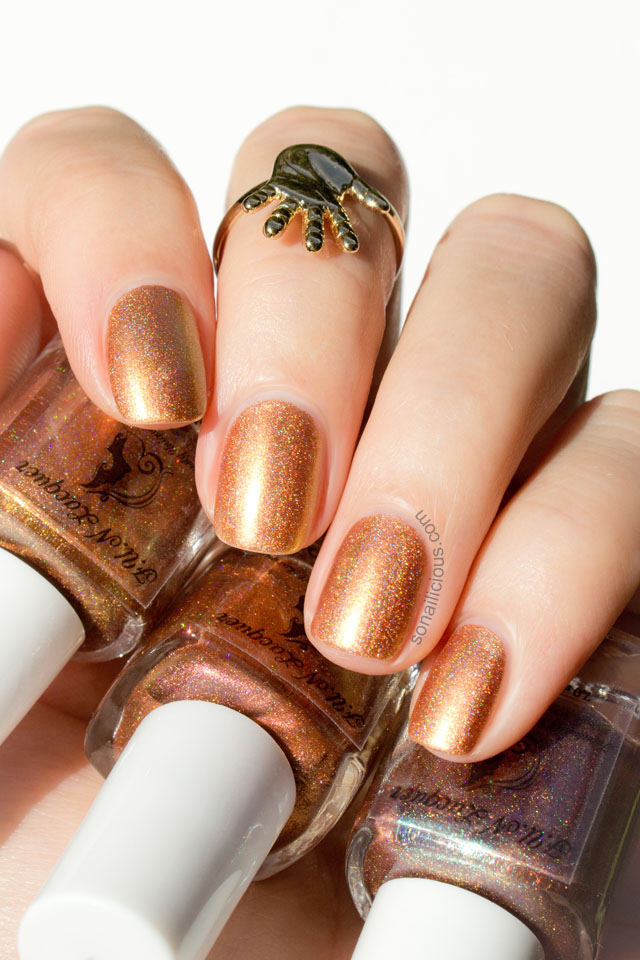 Fun Lacquer Horse 2014 gold nail polish