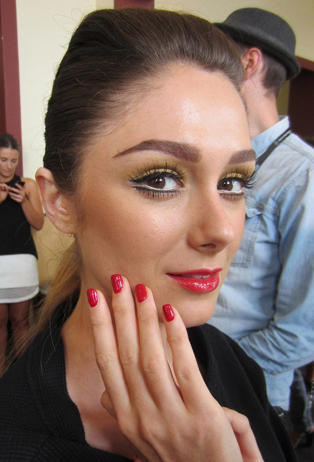 We are Handsome Makeup Nails 2014-Australian-Fashion-Week