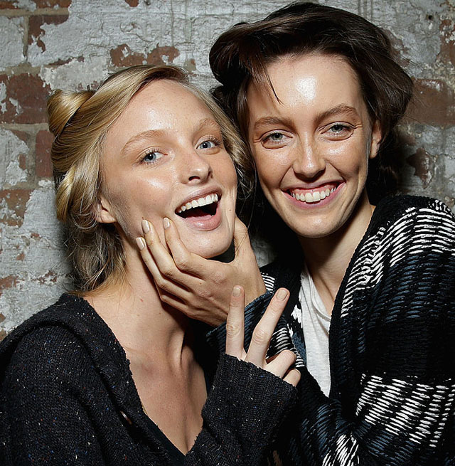 bec and bridge make up nails 2014 australian fashion week 2
