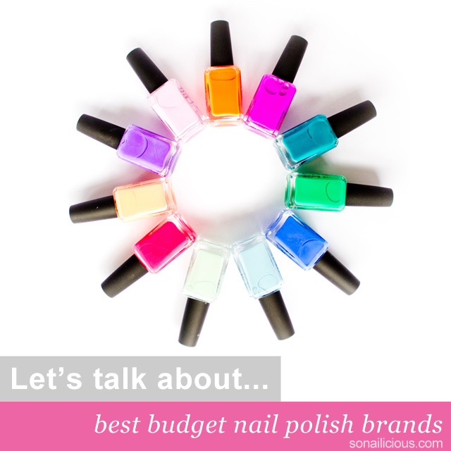 best budget nail polish brands 1