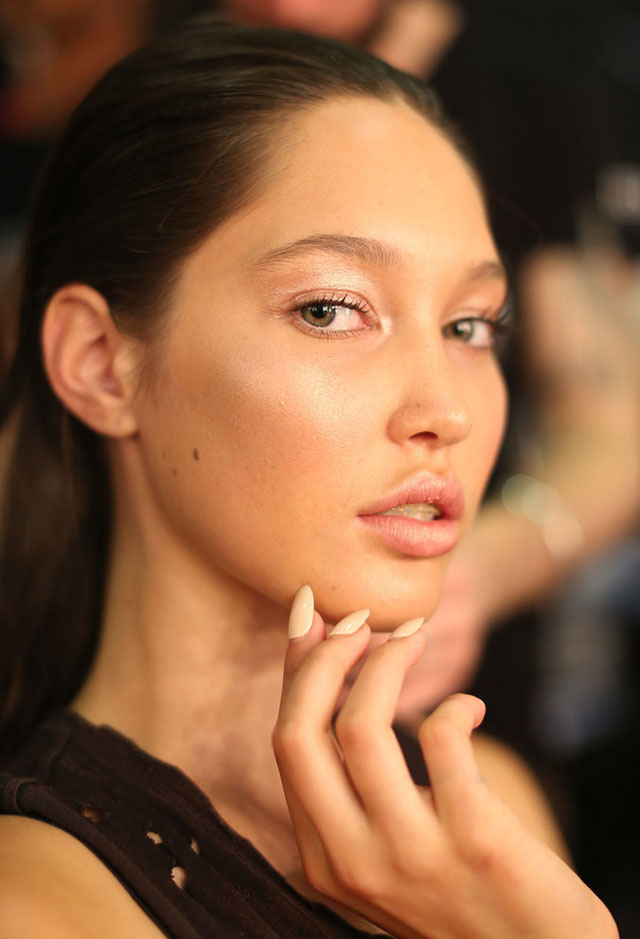 gail sorronda make up nails 2014 australian fashion week 3