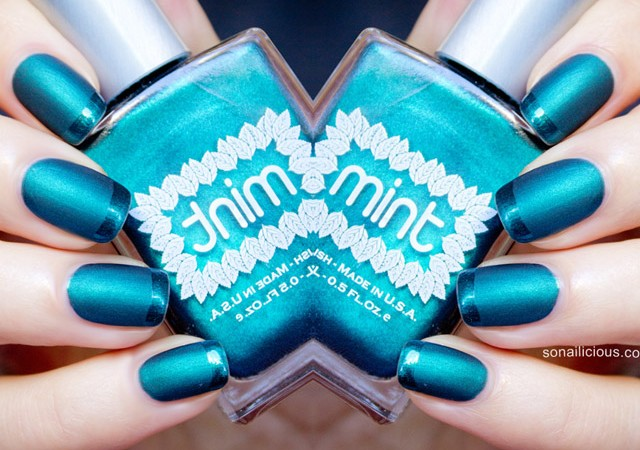 mint polish czarina review 1