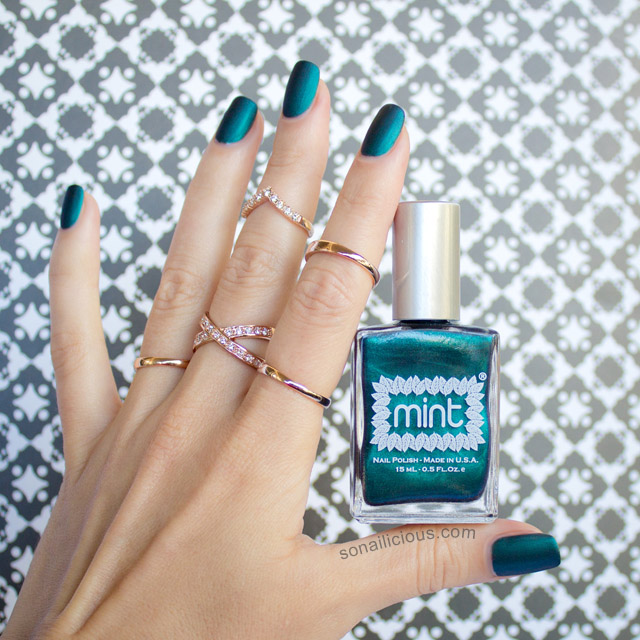 mint polish czarina review