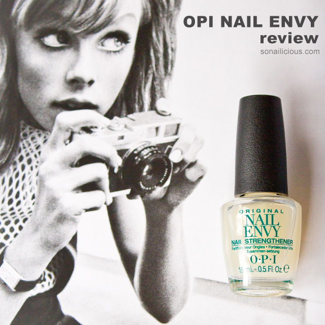 opi nail envy review