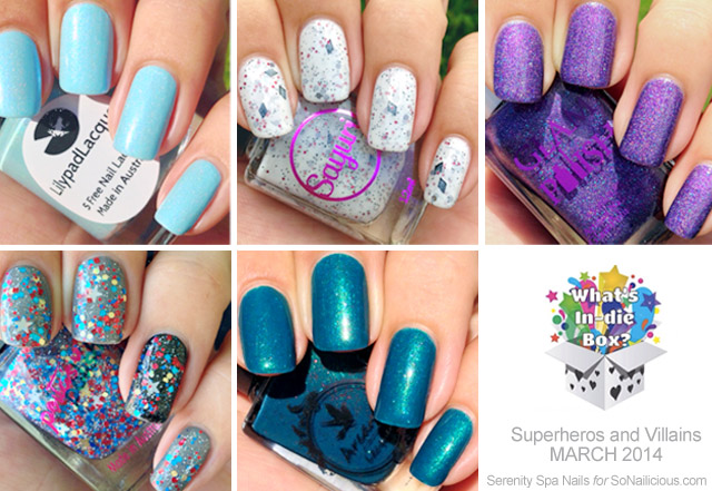 whats in-die box march review, australian indie nail polishes