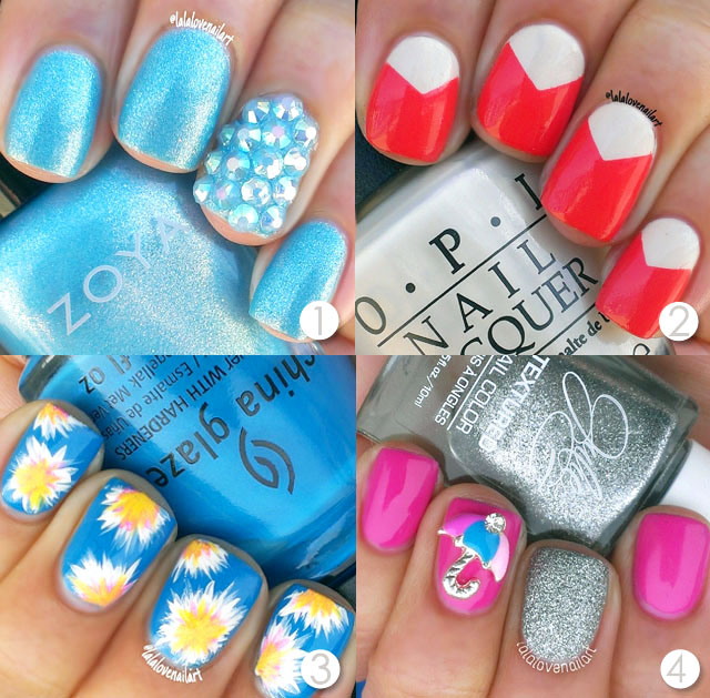 Simple Nail Designs For Beginners: 10 Easy Nail Designs For Beginners
