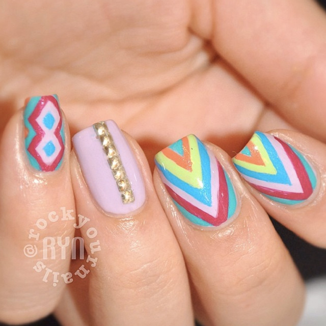 New Instagram Nails: @rockyournails